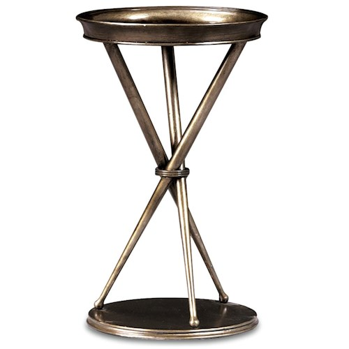 Thomasville® Spellbound Metal Chair Side Round Table