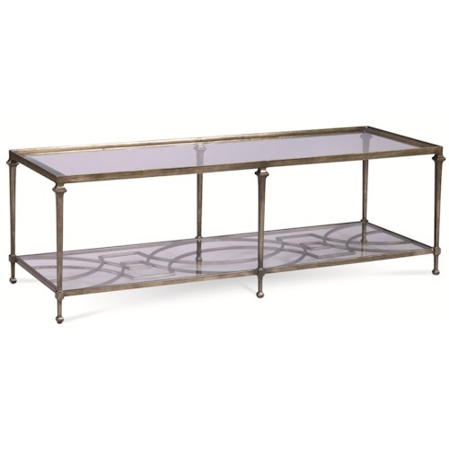 Thomasville® Spellbound Rectangular Coffee Table w/ Glass Top