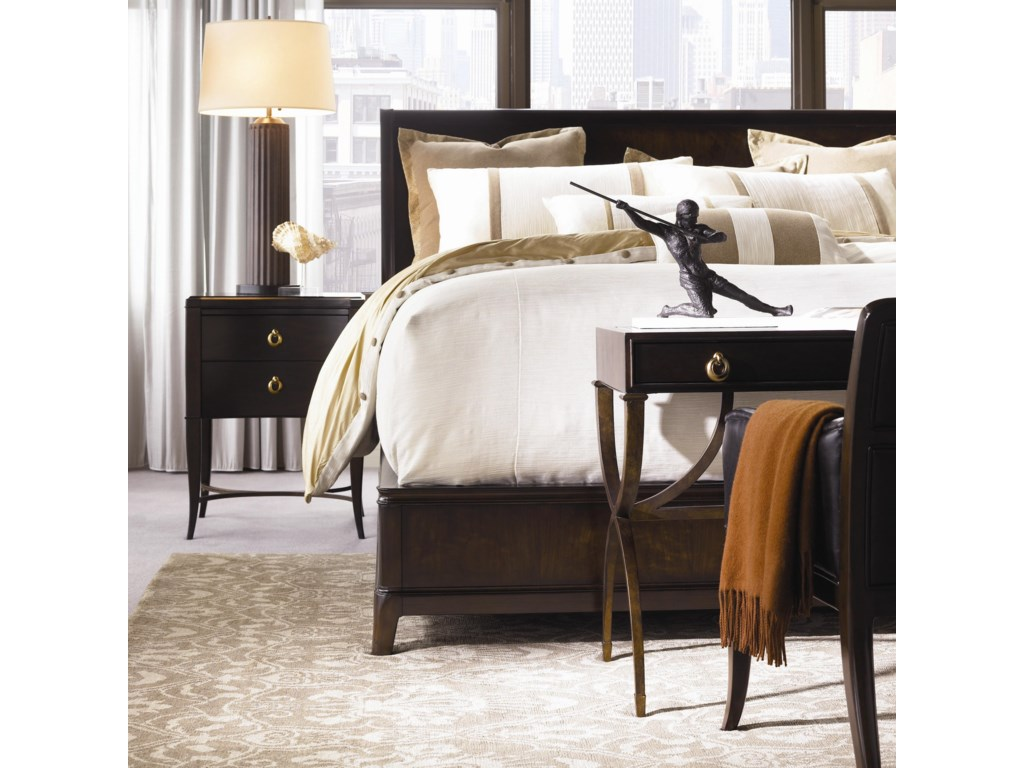 Shown with Platform Bed, Bedside Table, and Desk Chair