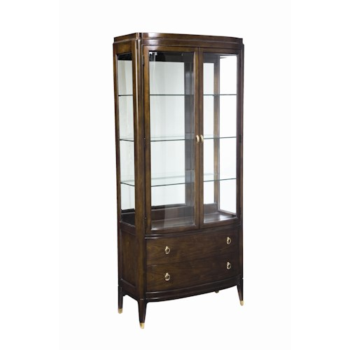 Thomasville® Studio 455 Bunching Curio Cabinet