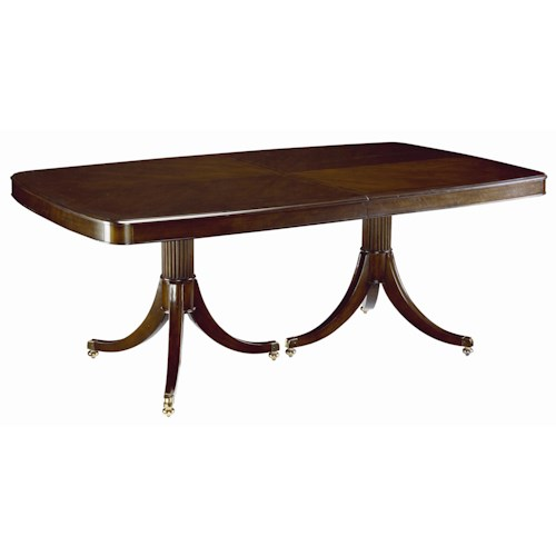 Thomasville® Studio 455 Double Pedestal Dining Table