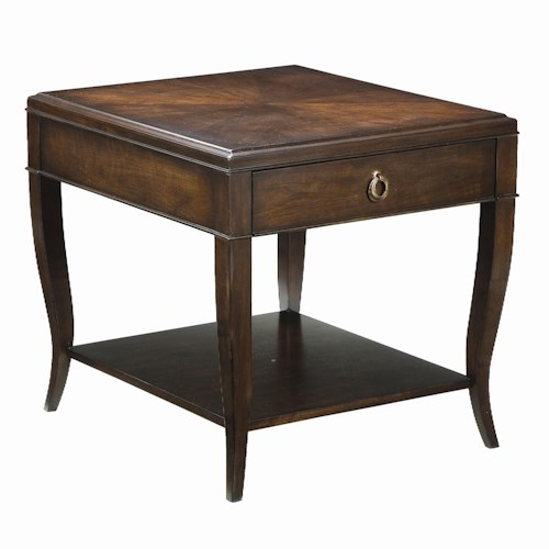 Thomasville® Studio 455 Single Drawer Rectangular End Table