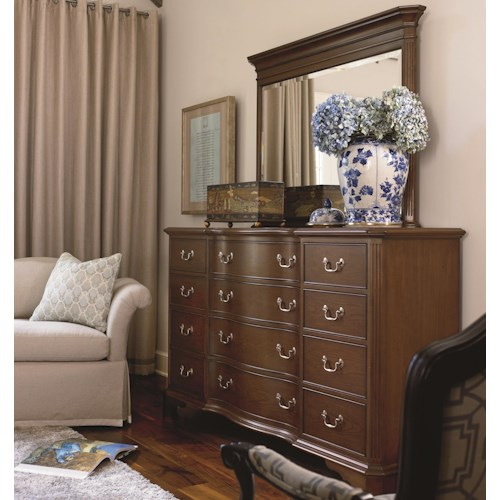 Thomasville® Tate Street Drawer Dresser w/ Mirror