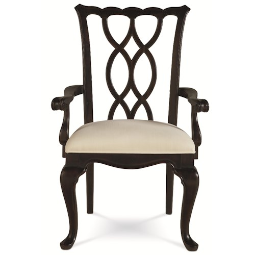 Thomasville® Tate Street Dining Arm Chair w/ Club Legs