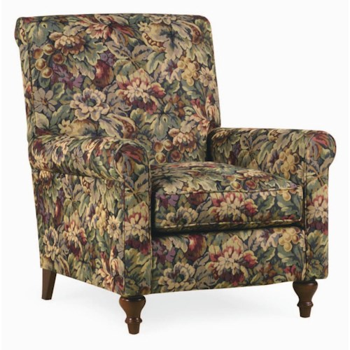Thomasville® Upholstered Chairs and Ottomans Solitaire Upholstered Arm Chair