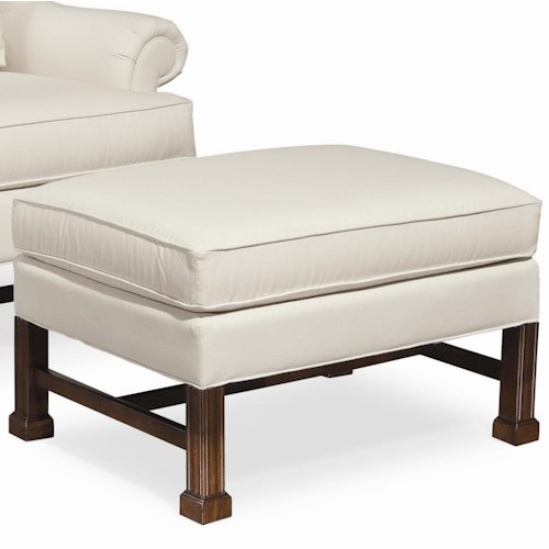 Thomasville® Upholstered Chairs and Ottomans Jamison Upholstered Ottoman