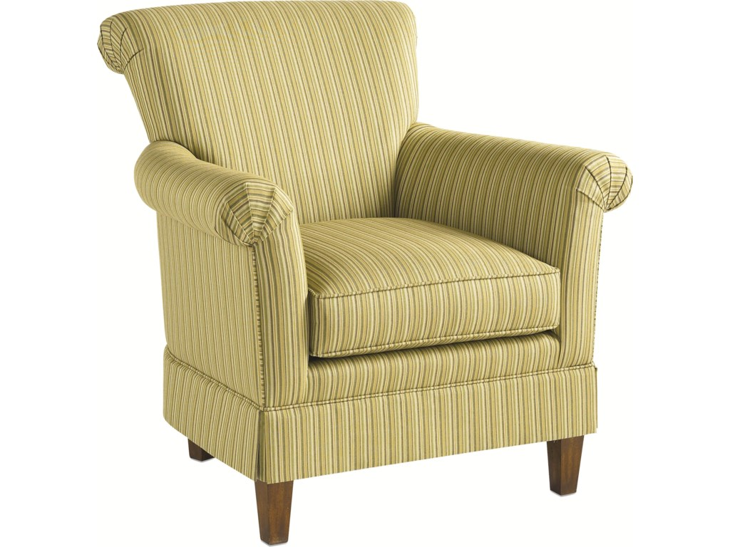 Thomasville Upholstered Chairs and Ottomans Lucille Chair with – Upholstered Chair with Ottoman