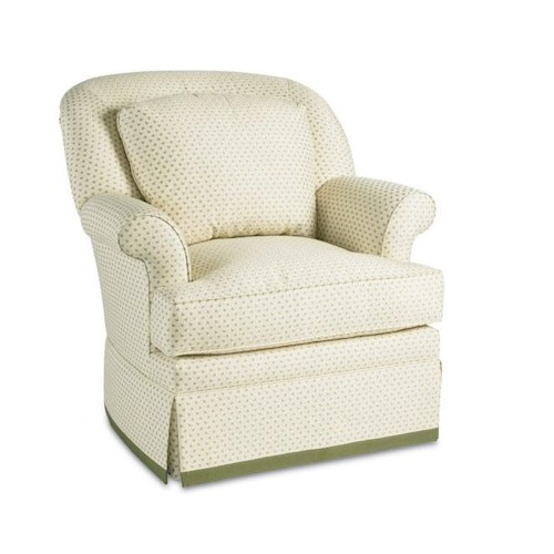 Thomasville® Upholstered Accents Stella Upholstered Swivel Base Chair