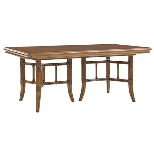 Tommy Bahama Home Bali Hai Fisher Island Rectangular Dining Table