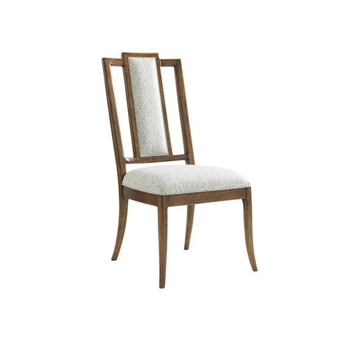 Tommy Bahama Home Bali Hai Quickship St. Bart's Splat Back Dining Side Chair