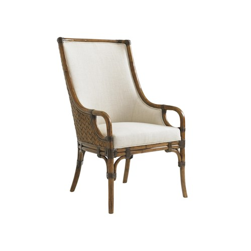 Tommy Bahama Home Bali Hai Customizable Marabella Upholstered Arm Chair
