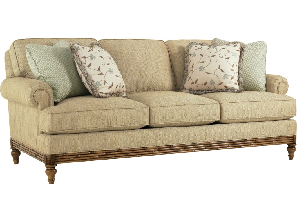 Choose From an Assortment of Fabrics to Custom Upholster the Piece In