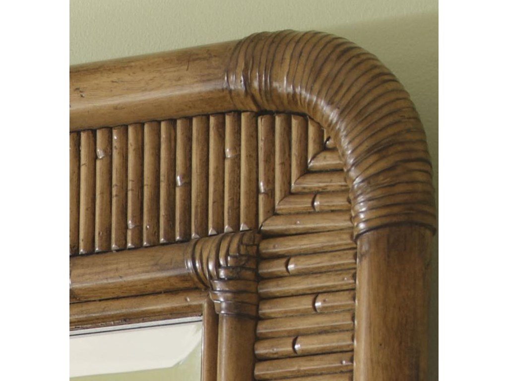 Reeded Bamboo Frame with Soft Radius Corners