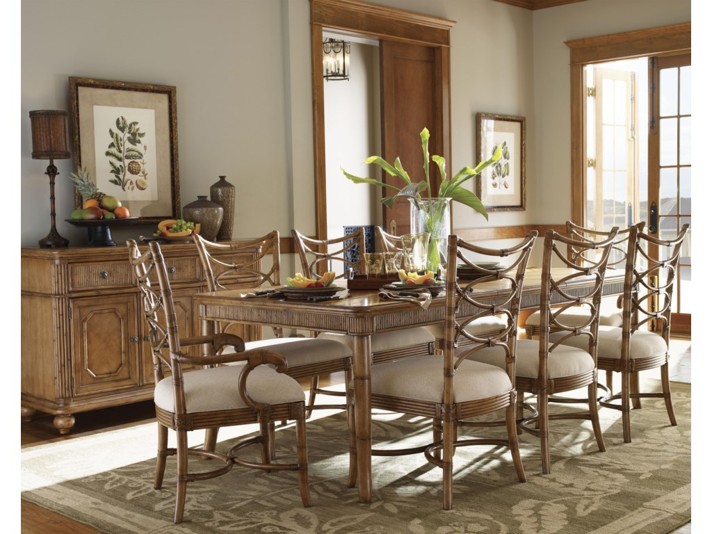 Shown with Boca Grande Dining Table, Sanibel Side Chairs, and Siesta Key Buffet