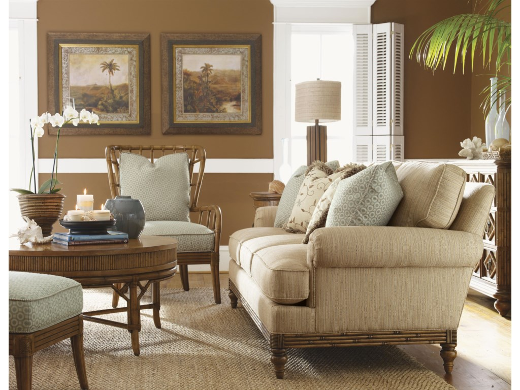 Shown with Golden Isle Sofa and Sunset Cove Chair