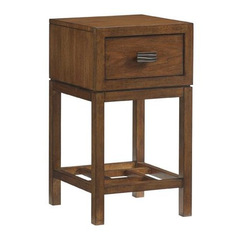 Tommy Bahama Home Island Fusion Hana Asian-Inspired Night Table with Drawer