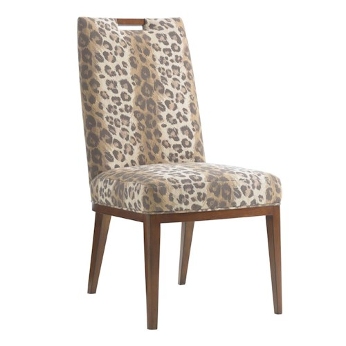 Tommy Bahama Home Island Fusion Coles Bay Customizable Side Chair