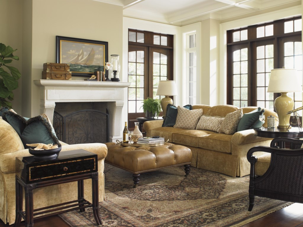 Tommy Bahama Living Room Furniture Tommy Bahama Home Island Traditions Tropical Stafford Chair With