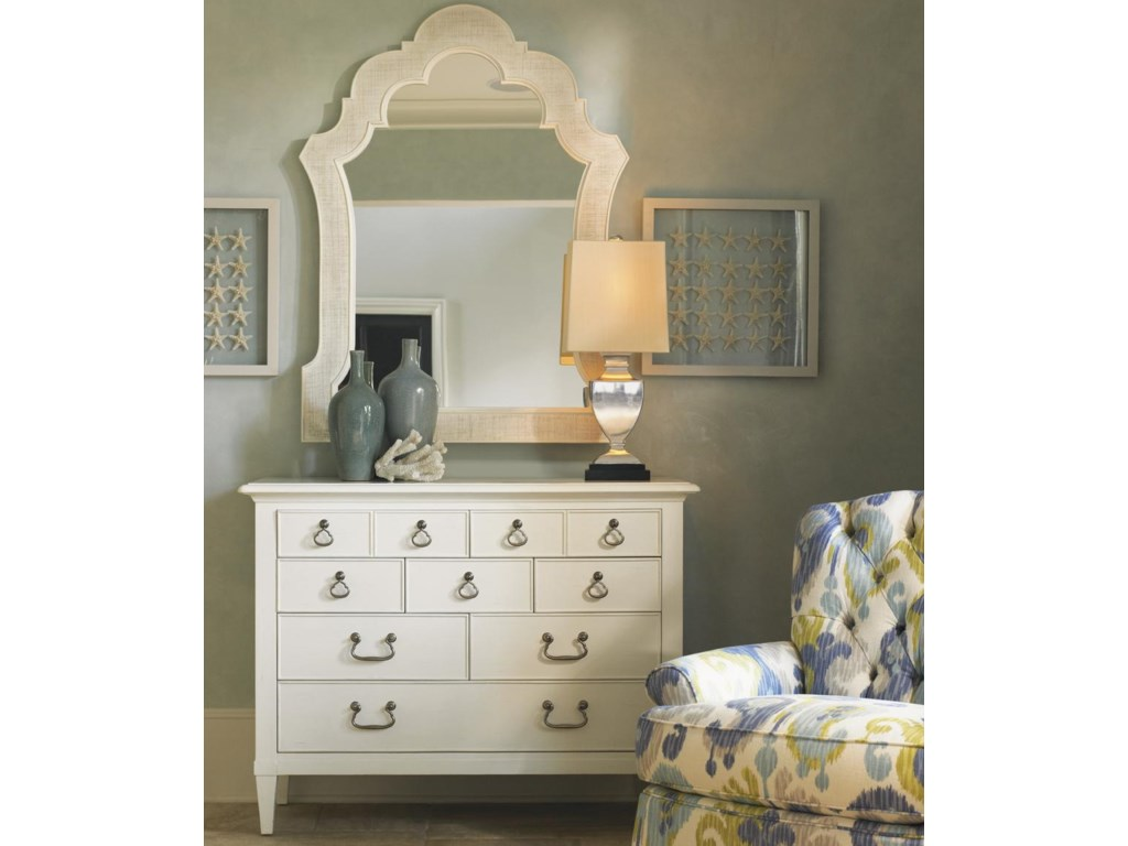 Shown with Sandys Mirror and Long Bay Chair