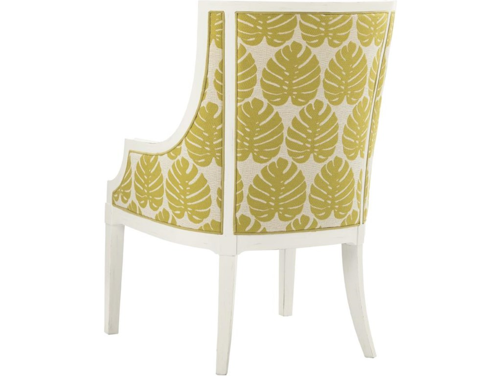 Aqua Bay Arm Dining Chair Back