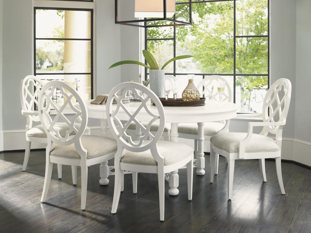 Shown with Mill Creek Arm Chairs and Knapton Hill Dining Table