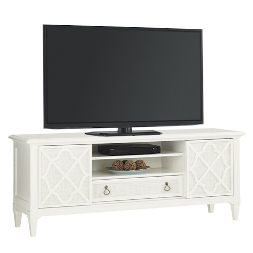 Tommy Bahama Home Ivory Key Wharf Street Entertainment Console