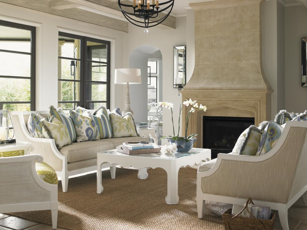 Shown with Coco Reef Sofa and Marley Chair