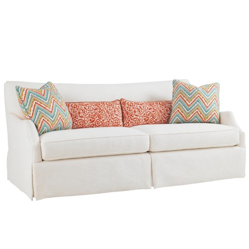 Tommy Bahama Home Ivory Key Crystal Caves Sofa