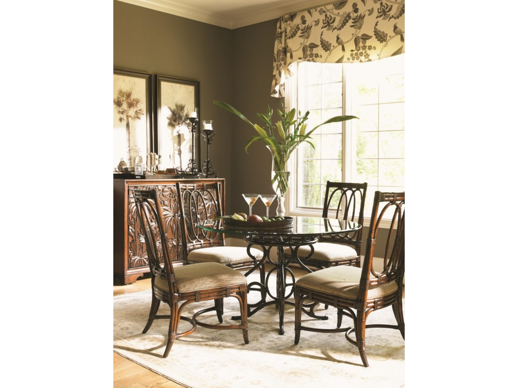 Tommy Bahama Kitchen Table Tommy Bahama Home Landara Capistrano Dining Table With 48 Inch