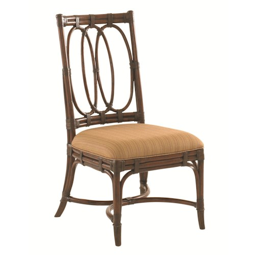 Tommy Bahama Home Landara Palmetto Quickship Side Chair