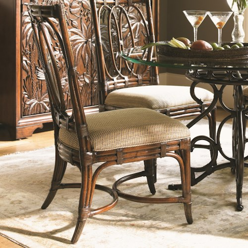 Tommy Bahama Home Landara Palmetto Customizable Fabric Side Chair