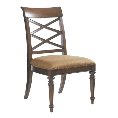 Tommy Bahama Home Landara Cedar Point Quickship Side Chair (RTA)