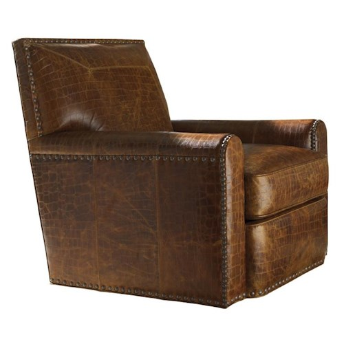 Tommy Bahama Home Road To Canberra Stirling Park Swivel Chair