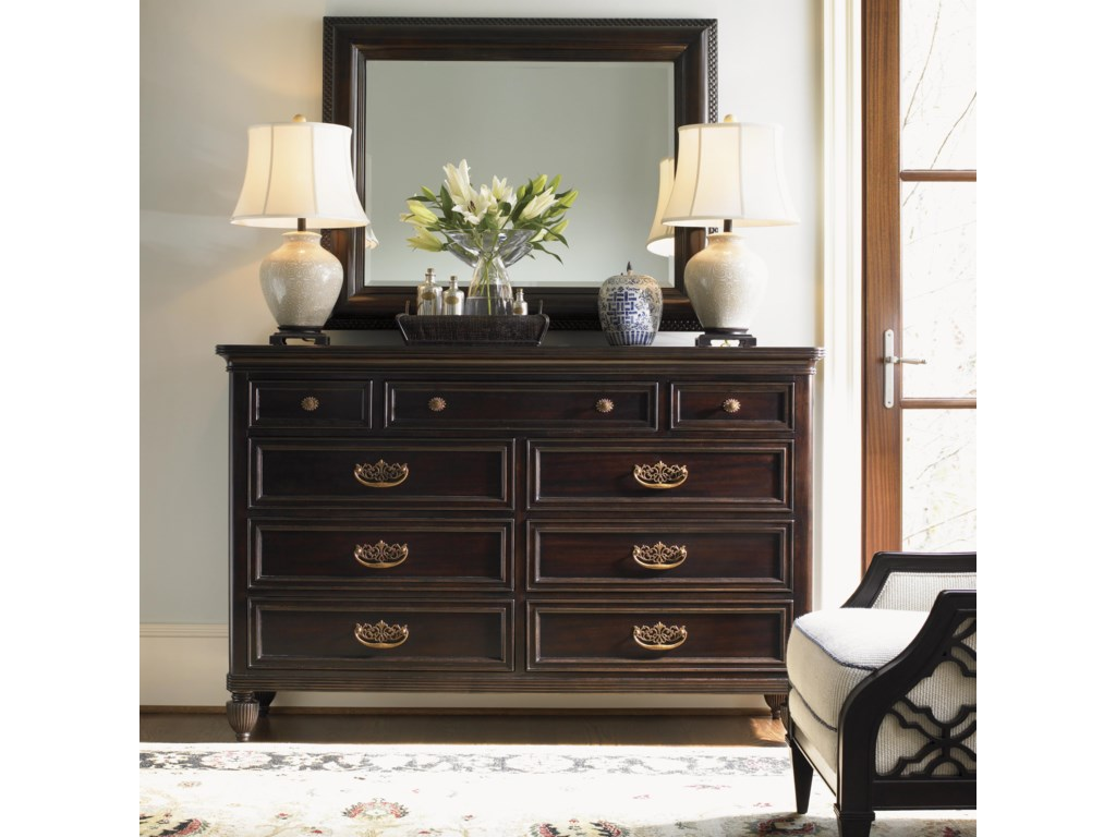 Shown with Royal Suite Dresser and Bay Club Chair