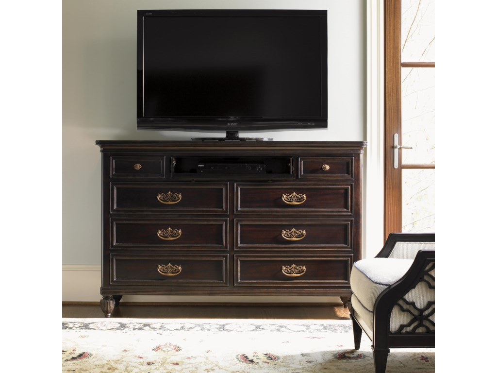 Shown as Media Unit with Bay Club Chair