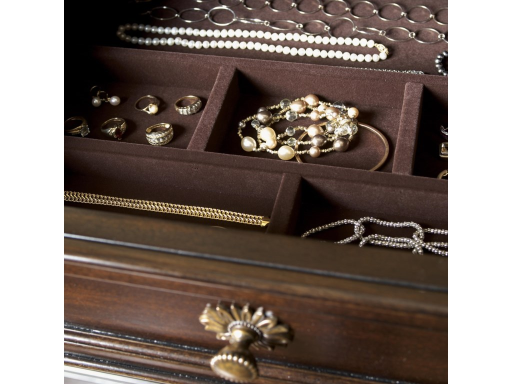 The Jewelry Tray is Felt-Lined to Keep Your Favorite Accessories Protected