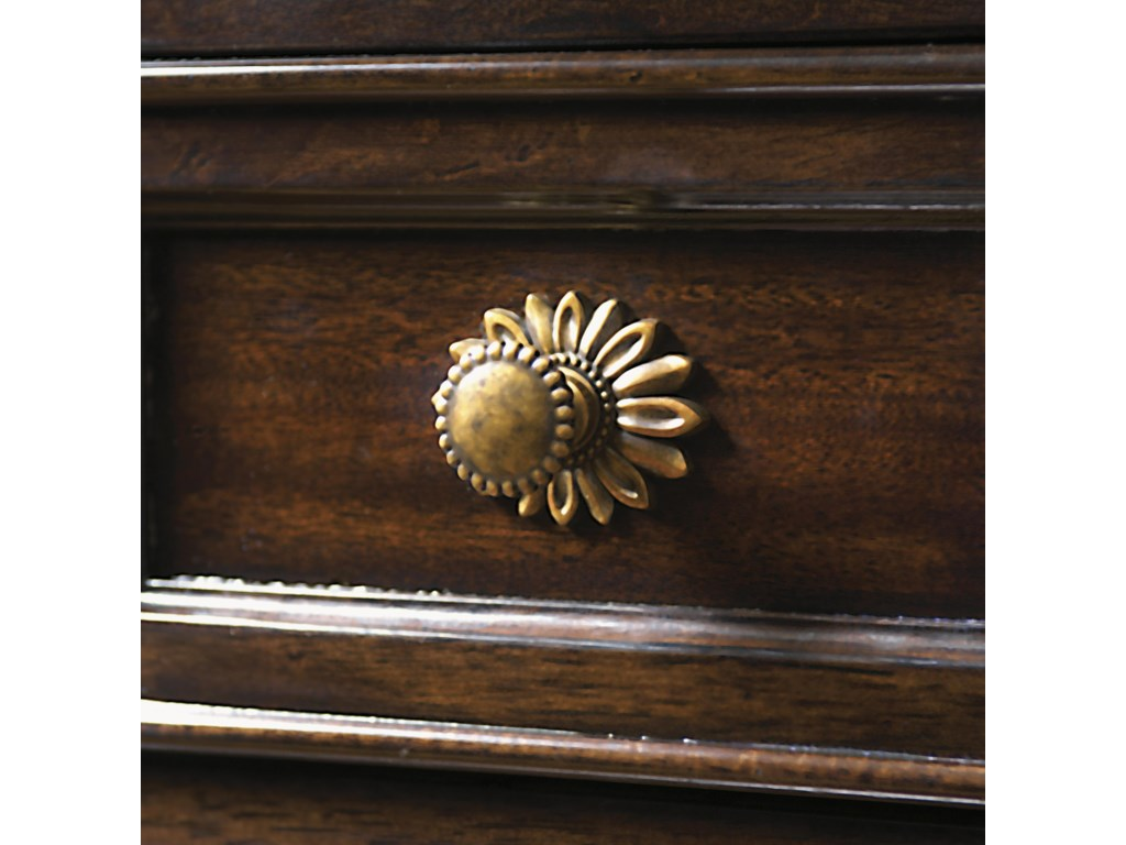 Custom Designed Bronze Hardware in an Aged Patina