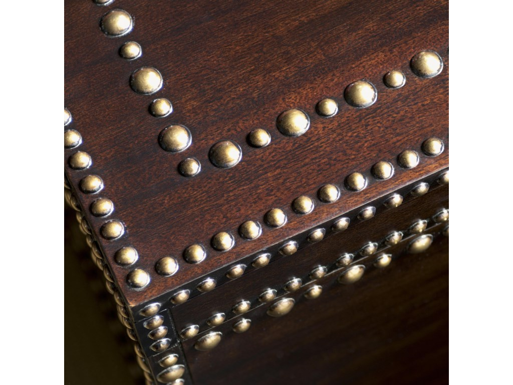 Patterned Brass Nailhead Trim