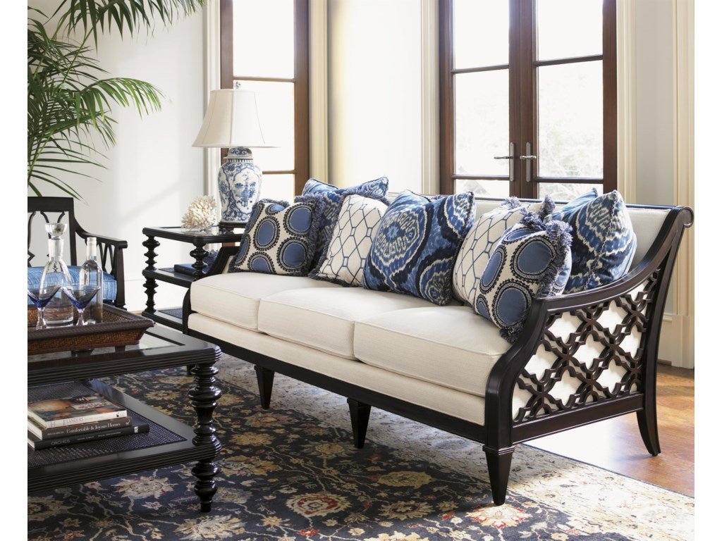 Shown with Bay Club Sofa, Tropic Coffee Table, and Ginger Chair