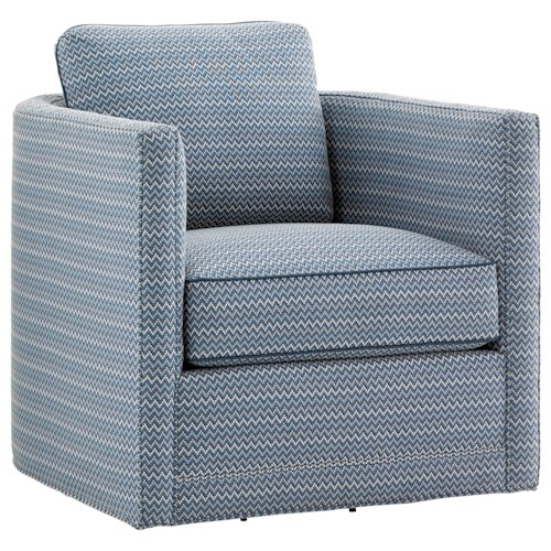 Tommy Bahama Home Twin Palms Dorado Beach Swivel Chair