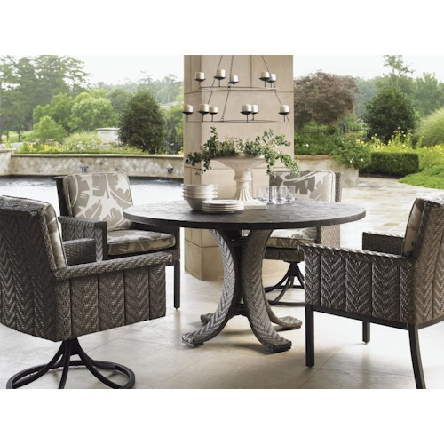 Tommy Bahama Outdoor Living Blue Olive 54