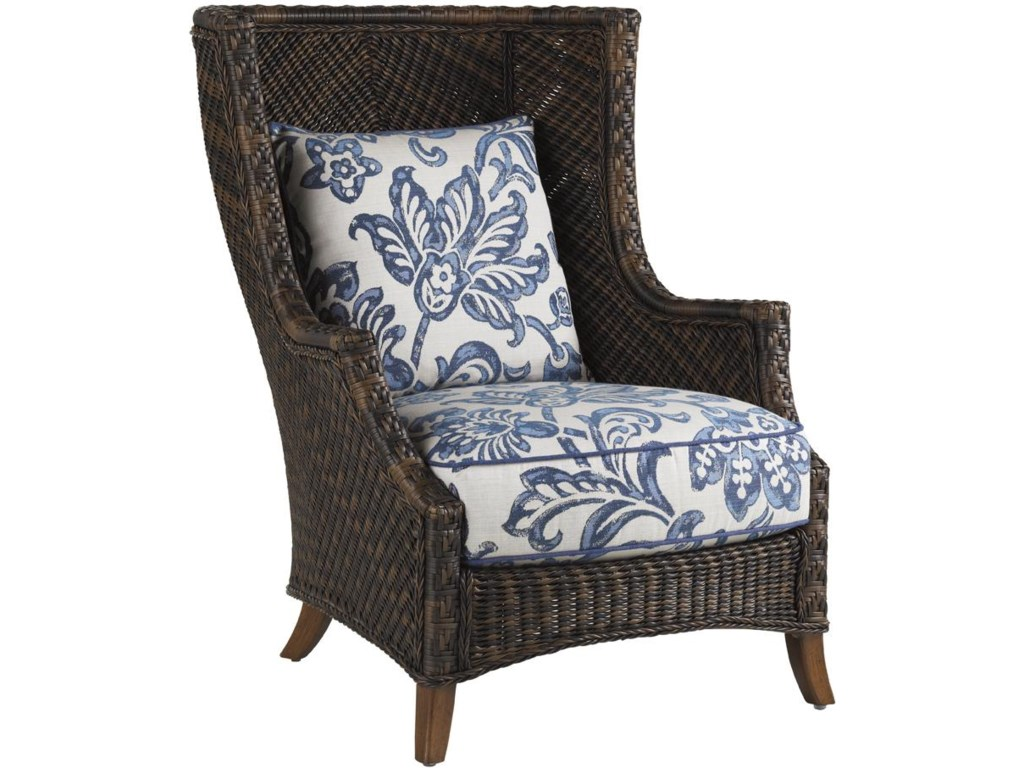 Set Includes Two Wing Back Chair