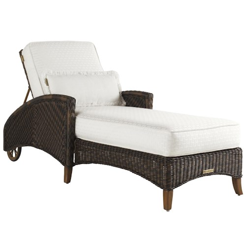 Tommy Bahama Outdoor Living Island Estate Lanai Outdoor Adjustable Chaise Lounge