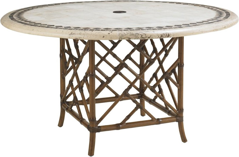 Weatherstone Round Dining Table