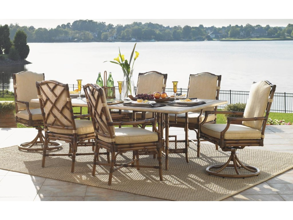 Shown with Dining Arm Chair and Swivel Lounge Chair