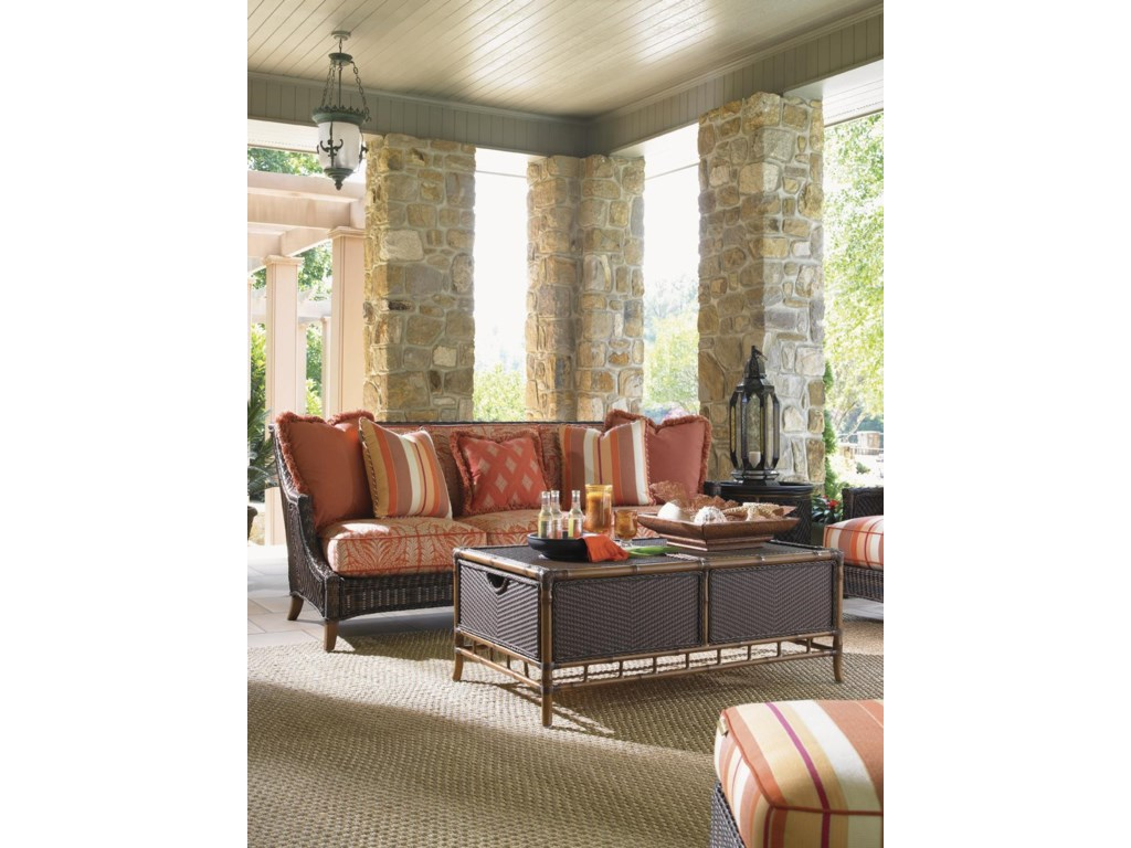 Shown with Island Estate Lanai Scatterback Sofa