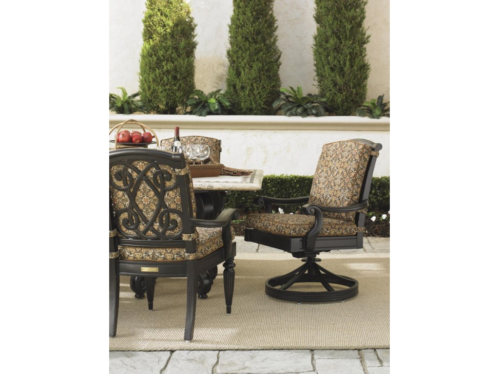 Shown with Swivel Rocker Dining Chair
