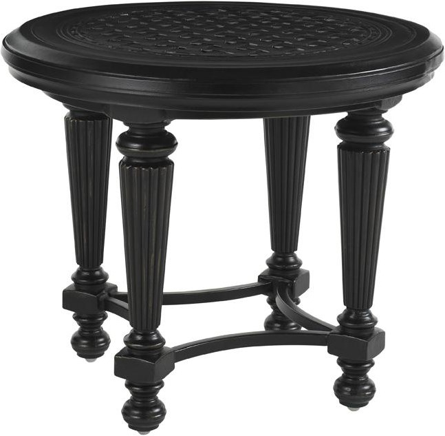 Includes Two Round End Tables
