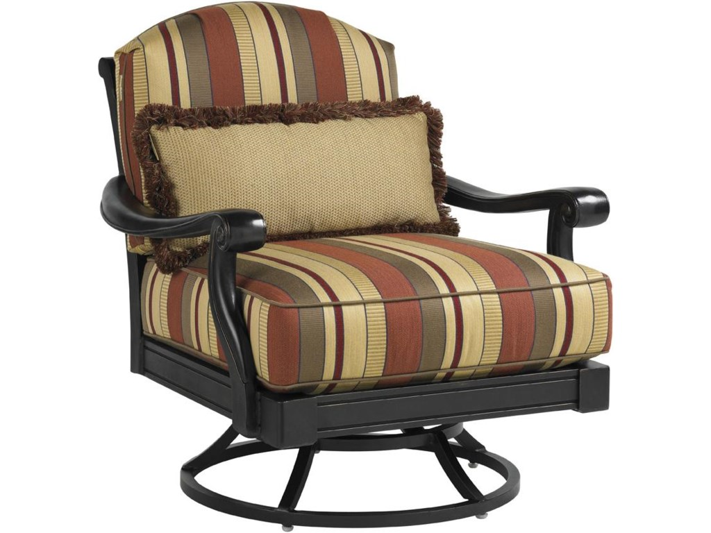 Includes Swivel Lounge Chair