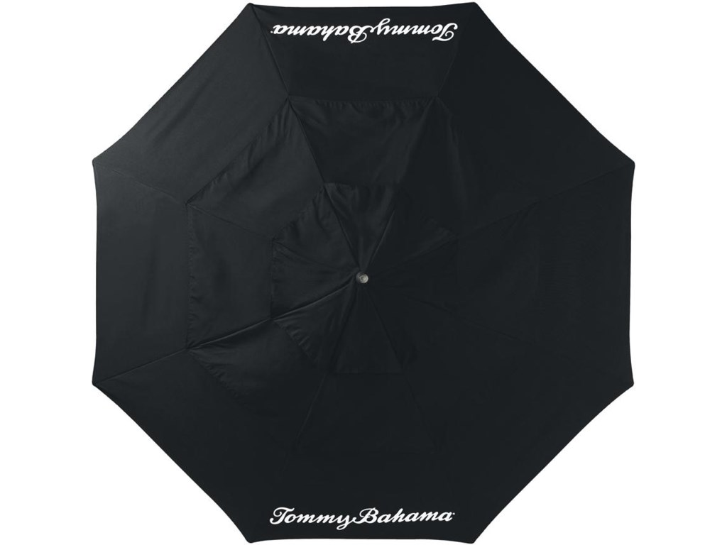 Black Umbrella in Alfresco Living Collection